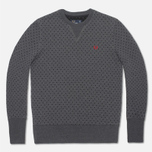 Женская толстовка Fred Perry Polka Dot Graphite Marl фото- 0