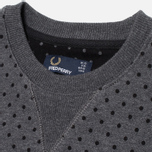 Женская толстовка Fred Perry Polka Dot Graphite Marl фото- 1