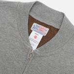 Мужская толстовка Garbstore PT Track Zip Jersey Grey фото- 1