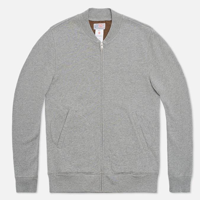 Garbstore PT Track Zip Jersey Sweatshirt Grey