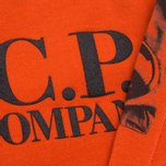 C.P. Company U16 Fleece Crewneck Children's Sweatshirt Orange photo- 3
