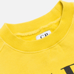 Детская толстовка C.P. Company U16 Fleece Crewneck Yellow фото- 2