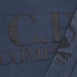 Детская толстовка C.P. Company U16 Goggle Print Hood Navy фото- 2