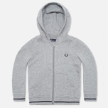 Детская толстовка Fred Perry Bold Hooded Sweat Steel Marl фото- 0