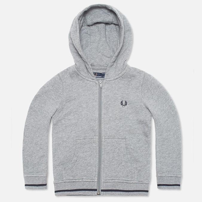 Детская толстовка Fred Perry Bold Hooded Sweat Steel Marl