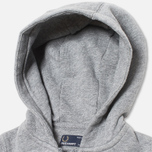 Детская толстовка Fred Perry Bold Hooded Sweat Steel Marl фото- 2