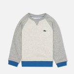 Детская толстовка Lacoste Color Block Lime/Paladium фото- 0