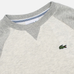 Детская толстовка Lacoste Color Block Lime/Paladium фото- 1