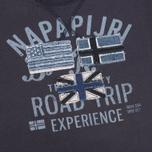 Детская толстовка Napapijri K Brae Blue Marine фото- 2