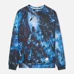 Мужская толстовка Kommon Universe Afterglow Crew Neck Navy фото- 0