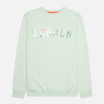 Мужская толстовка Kommon Universe Floral Crew Neck Green фото- 0