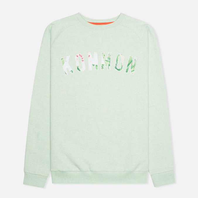 Мужская толстовка Kommon Universe Floral Crew Neck Green