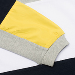 Мужская толстовка Kommon Universe Kelvin Crew Neck Navy/Grey/Yellow фото- 3