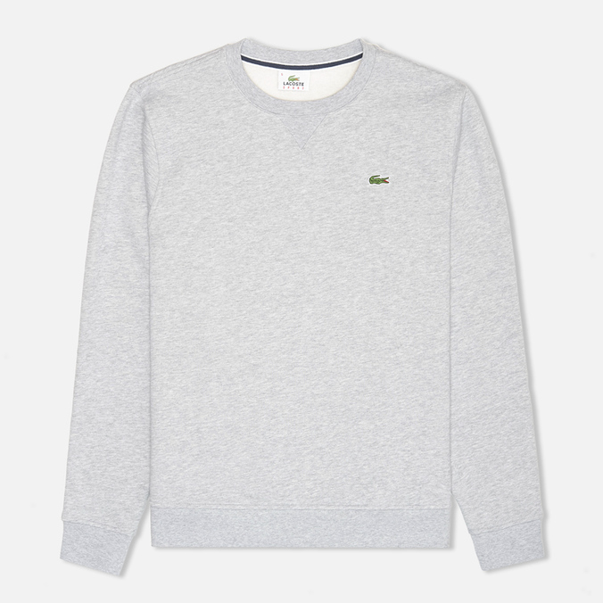 Мужская толстовка Lacoste Cotton Fleece Argent Chine