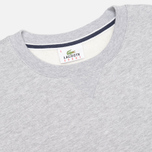 Мужская толстовка Lacoste Cotton Fleece Argent Chine фото- 1