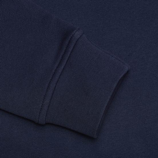 Мужская толстовка Lacoste Sport Crew Neck Solid Fleece Navy Blue