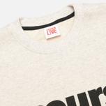 Lacoste Live Cours Toujours Print Sweatshirt Chine/Noir photo- 1