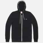 Мужская толстовка Lacoste Live Full Zip Hoody Black фото- 0