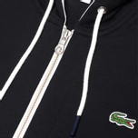 Мужская толстовка Lacoste Live Full Zip Hoody Black фото- 3
