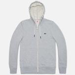 Мужская толстовка Lacoste Live Full Zip Hoody Grey фото- 0