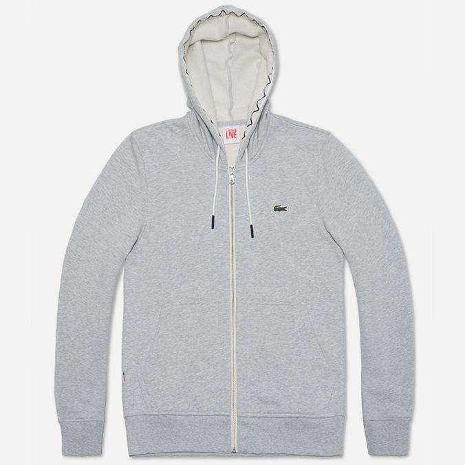 Мужская толстовка Lacoste Live Full Zip Hoody Grey