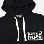 Мужская толстовка Life's A Beach All Sleeve Logo Black фото- 1