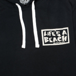 Мужская толстовка Life's A Beach All Sleeve Logo Black фото- 2