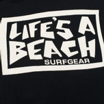 Мужская толстовка Life's A Beach All Sleeve Logo Black фото- 3