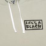Мужская толстовка Life's A Beach All Sleeve Logo Grey фото- 2