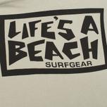 Мужская толстовка Life's A Beach All Sleeve Logo Grey фото- 3