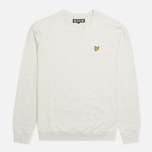 Мужская толстовка Lyle & Scott Crew Neck Fleece Light Grey Marl фото- 0