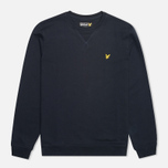 Мужская толстовка Lyle & Scott Crew Neck Fleece New Navy фото- 0