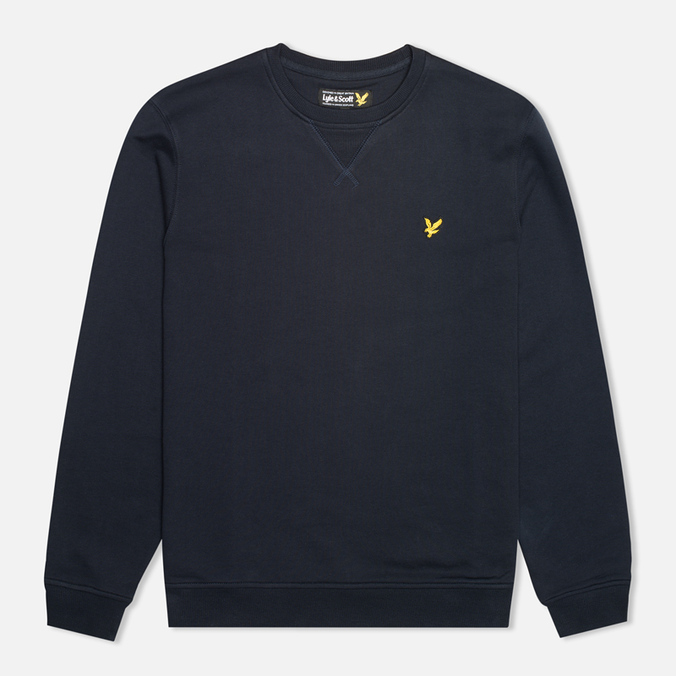 Мужская толстовка Lyle & Scott Crew Neck Fleece New Navy