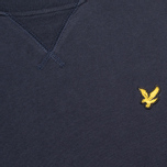 Мужская толстовка Lyle & Scott Crew Neck Fleece New Navy фото- 2