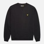 Lyle & Scott Crew Neck Fleece Men`s Sweatshirt True Black photo- 0