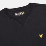 Lyle & Scott Crew Neck Fleece Men`s Sweatshirt True Black photo- 1