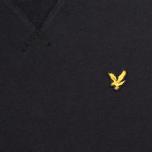 Lyle & Scott Crew Neck Fleece Men`s Sweatshirt True Black photo- 2