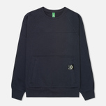 Мужская толстовка MA.Strum Crew Neck Track Dark Navy фото- 0