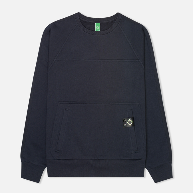 Мужская толстовка MA.Strum Crew Neck Track Dark Navy