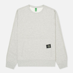 Мужская толстовка MA.Strum Crew Neck Track Light Grey Melange фото- 0