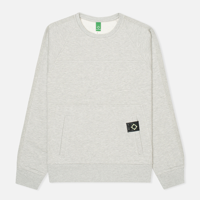 Мужская толстовка MA.Strum Crew Neck Track Light Grey Melange