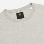 Мужская толстовка Maharishi Garment Dyed Crew Organic Loopback Grey Marl фото- 1