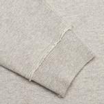 Мужская толстовка Maharishi Garment Dyed Crew Organic Loopback Grey Marl фото- 4