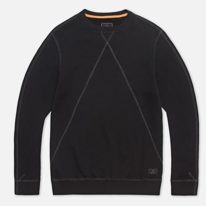 Maharishi V Flatlock Crew Sweatshirt Black