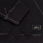 Maharishi V Flatlock Crew Sweatshirt Black photo- 2