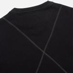 Maharishi V Flatlock Crew Sweatshirt Black photo- 3