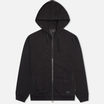 Maharishi Yama Control Track Organic Loopback Men`s Hoody Black photo- 0
