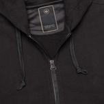 Maharishi Yama Control Track Organic Loopback Men`s Hoody Black photo- 2
