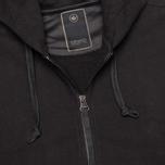 Мужская толстовка Maharishi Yama Control Track Organic Loopback Black фото- 2