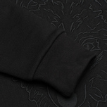 Мужская толстовка Maison Kitsune Crew Neck 3D Fox Embroidery Black фото- 4